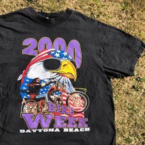 Vintage Daytona Beach bike week 200